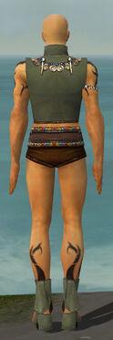 Ritualist Shing Jea Armor M gray chest feet back