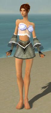 Elementalist Kurzick Armor F gray arms legs front