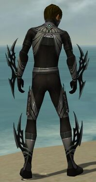 Assassin Vabbian Armor M gray back