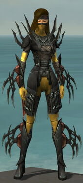 Assassin Ancient Armor F dyed front