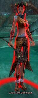 Luxon Army Elementalist