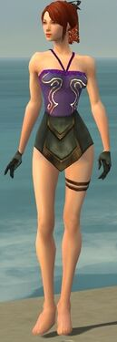 Mesmer Vabbian Armor F gray arms legs front