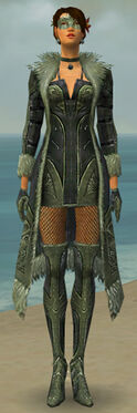 Mesmer Kurzick Armor F gray front