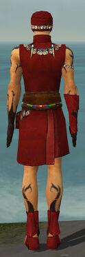Ritualist Shing Jea Armor M dyed back