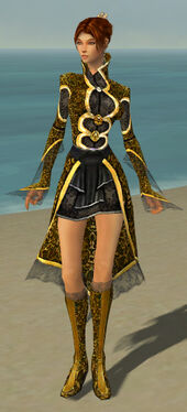 Elementalist Elite Canthan Armor F dyed front