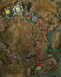 Jarimiya the Unmerciful Map
