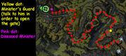 Cho's estate map
