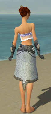 Elementalist Stoneforged Armor F gray arms legs back