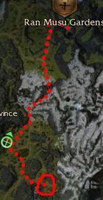 Sulmeng the Skull Staff Location