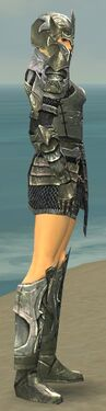 Warrior Elite Templar Armor F gray side