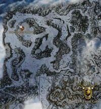 Anvil Rock map