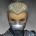 Assassin Asuran Armor M dyed head front