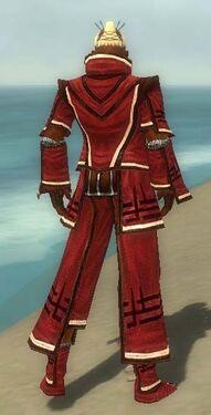Monk Kurzick Armor M dyed back