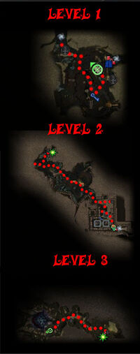 Bloodstone Caves Map