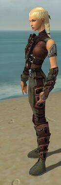 Ranger Obsidian Armor F gray side alternate