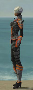 Elementalist Obsidian Armor F dyed side