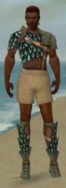 Ranger Drakescale Armor M gray chest feet front