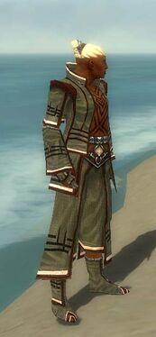 Monk Kurzick Armor M gray side