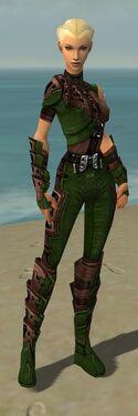 Ranger Obsidian Armor F dyed front