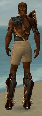 Ranger Elite Sunspear Armor M gray chest feet back