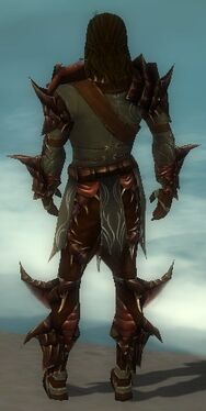 Ranger Primeval Armor M gray back