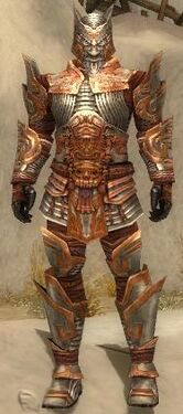 Warrior Asuran Armor M dyed front