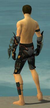 Assassin Elite Kurzick Armor M gray arms legs back