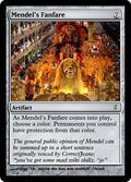 Giga's Mendel's Fanfare Magic Card