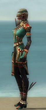 Ritualist Elite Canthan Armor F dyed side