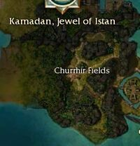 Churrhir Fields Map