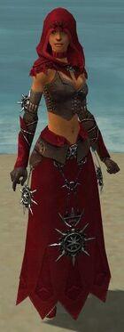 Dervish Elite Sunspear Armor F dyed front