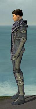 Elementalist Krytan Armor M gray side