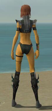 Assassin Luxon Armor F gray chest feet back