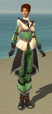 Elementalist Ancient Armor F dyed front