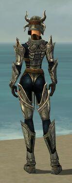 Warrior Elite Sunspear Armor F gray back