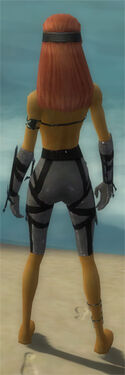 Assassin Obsidian Armor F gray arms legs back