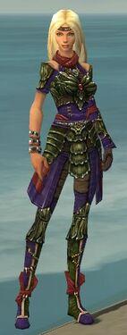 Ranger Elite Luxon Armor F dyed front