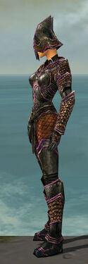 Warrior Kurzick Armor F dyed side