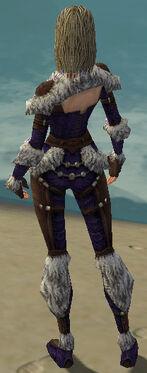 Ranger Elite Fur-Lined Armor F dyed back