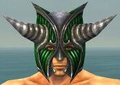 Warrior Wyvern Armor M dyed head front