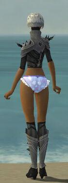 Elementalist Obsidian Armor F gray chest feet back
