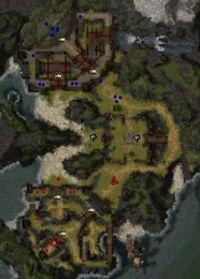Isle of Meditation map