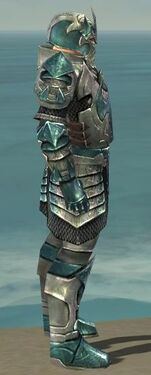 Warrior Elite Templar Armor M dyed side