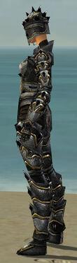 Warrior Obsidian Armor F dyed side
