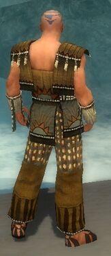 Monk Sunspear Armor M gray back