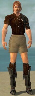 Ranger Istani Armor M gray chest feet front