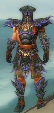 Warrior Luxon Armor M dyed front