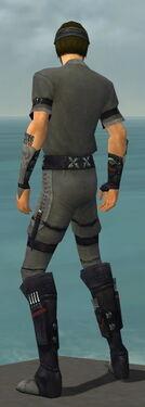 Assassin Shing Jea Armor M gray back