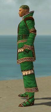 Monk Elite Kurzick Armor M dyed side