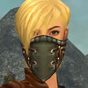 Ranger Istani Armor F gray head front